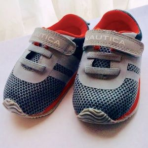 SOLD— Nautical Baby Boys Sz.3 Shoes